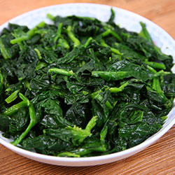 Organic IQF Spinach